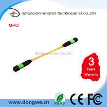 MPO-MPO Patch Cord, 4, 8, 12, 24 Cores selectable, MTP fiber optic patch cord / jumper