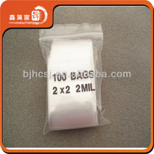 beautiful new style small colored plastic zipper bags