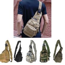Outdoor Sport Camping Hiking Trekking sling Bag Military Tactical Shoulder Bag Men Women