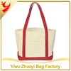 2014 Promotional Personalized Tote Bags Heavy Cotton Canvas Boat Tote Bag
