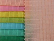 no MOQ spring summer solid color mini plaid organza nylon fabric