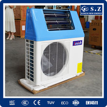 Domestic hot water 60deg.C 220V tankless 5kw 260L ,7kw,9kw high COP5.32 save 80% energy solar air to water generator heat pump