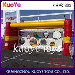 inflatable soccer shoot,inflatable giant soccer shoot sale,fun play yard inflatable