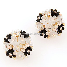 Wholesale women accessories no.SE15046 lovely daisy fashion earring