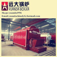 0.3t/hr-20t/hr industrial solid fuel coal/biomass/wood fired steam boiler for pharmacy/plastic/rice mill industry