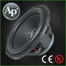 "10""-15"" Professional Super Power Car Audio Subwoofer, dual terminal car subwoofer speaker"