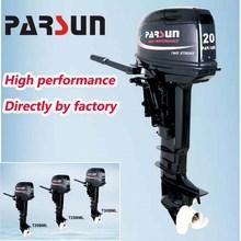 20hp 2-stroke outboard engine / tiller control / electric start / short shaft / T20BWS / PARSUN