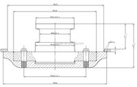 Flat Trailer Kit 3.5 Inch Truck Technic Spare Parts Bolt-in Type Semi Trailer Wheel Lock