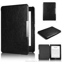 Litchi Pattern PU Stand Leather Case for Amazon Kindle Fire HD6 2014
