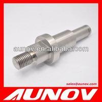 Custom designed hydraulic motor shaft