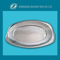 disposable oval aluminum foil tray for food catering with competitive price