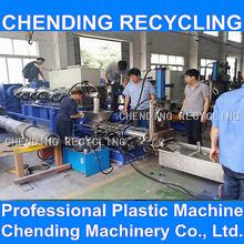 CHENDING 300-800kg/h pp pe ldpe hdpe pet production line plastic granulator