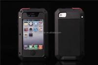 New Waterproof Shockproof Aluminum Gorilla Metal Cover Case for iPhone 5S 5 4 4S
