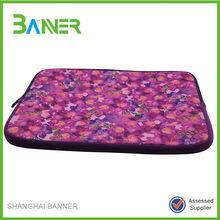 Neoprene wholesale fashion portable sublimation laptop case