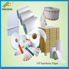 Prochema 55um Matt Surface PP Synthetic Paper for Printing