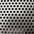 Chapas perforadas de acero inoxidable
