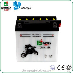 Manufactory Best Prices Electric Motorcycle Battery for 12N9-4B