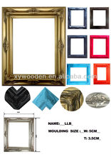 Personality funny photo frame wood wall hanging photo frame