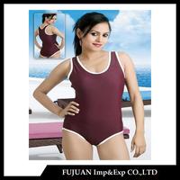 2015 OEM custom make one piece indian girl bikini and swimsuits beach swimwear