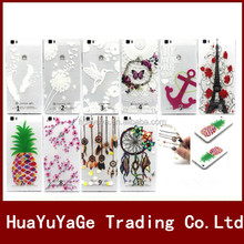 3D Printed Pattern TPU Transparent soft gel phone cases cover for Huawei P8 Lite