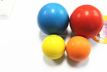 Wholesale custom soft rubber bouncing ball for dogs
