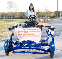 seven double seat7 person Conference bicycle for sale