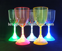 LED Flashing cups, 300 ml Lighted Wine Glass, Light Up Party Glass
