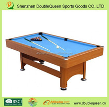 2015 new style high quality multi functional pool table/table tennis net for sale