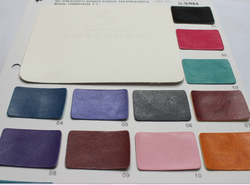 2015 newest design R64 color change pu synthetic leather for furniture