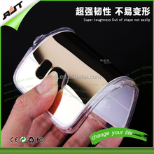 Hot Selling And Cheap Price Flexible Tpu Mirror Phone Case For Samsung Galaxy S6 edge