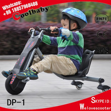 DP-2 Coolbaby 360 new style electric kids trike tricycle drifting rip rider 360 scooter powered flash rider 360