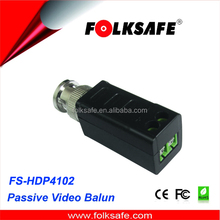long distance wireless transmission,Folksafe screw terminal connection video balun, FS-4102SR