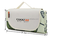 New Design Bright Colour Picnic Camping Blanket Mat with High Quality Bags