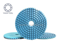 Granite Polishing Pad with Velcro Backing wet dry use
