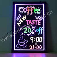 High quality new fresh sparkle led acrylic boards 60x80cm