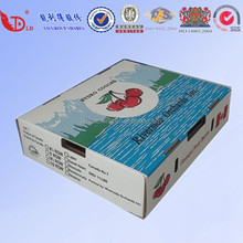Fresh Fruit Packing Box Wholesale/Frozen Fruit/Banana box/Carton Fruit Packing Tray