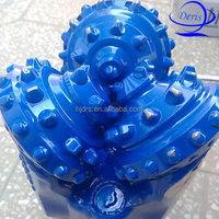 tci tricone rock bits water well drilling rigs man