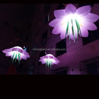 Free shipping diameter1.5m Cheap inflatable flowers for party decoration