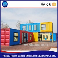 Full Finished Container House 40 Feet prefabricated house,mobile home