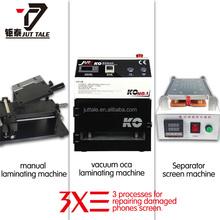 Full kit SAMSUNG NOTE LCD refurbish machine group KO-01OCA lamination machine damaged screen repair tool Max repair 7 inch