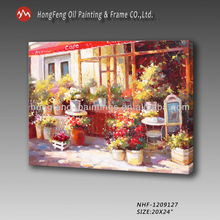 Hot!!! garden scenery flower oil paintings for sale -NHF-1209127-