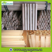 China Manufacture Natural Wooden Broom Pole