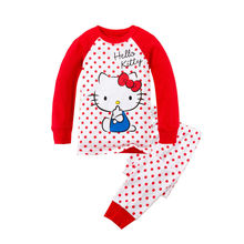 news 2015 latest pajamas for boys and girls 100% cotton children's clothing babys and kids clothes