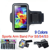 Stylish WaterProof Sport Gym Running Armband Protector Soft Pouch Case Cover for Samsung Galaxy S5 S4 S3 Sporty Armband