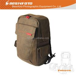 Waterproof Canvas Vintage Hidden camera bag laptop bag cases for hiking