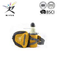 New Arrival waist bag with bottle holder sports water bottle waist bag