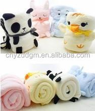 plush pillow pet blanket/blanket baby/polar fleece baby blanket