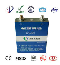 40Ah 3.2V lithium ion battery