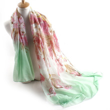 Beautiful Scarf Floral Print Scarf Shawl Wrap