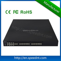 24 10G optical ports+4 1G RJ45 ports industrial ethernet switch
